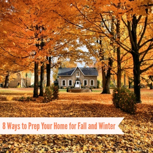 8 ways to prep your home for fall and winter p d for Fall home preparation