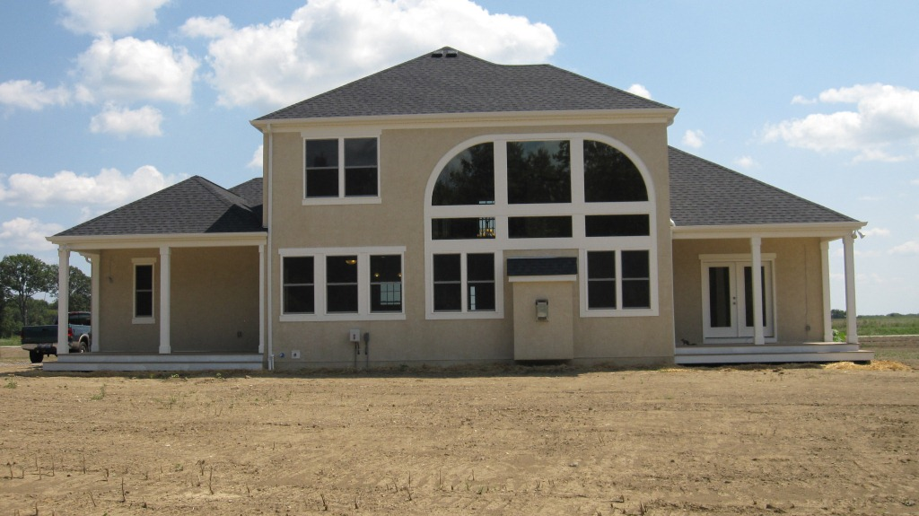 P&D Builders Featured Home Rear view