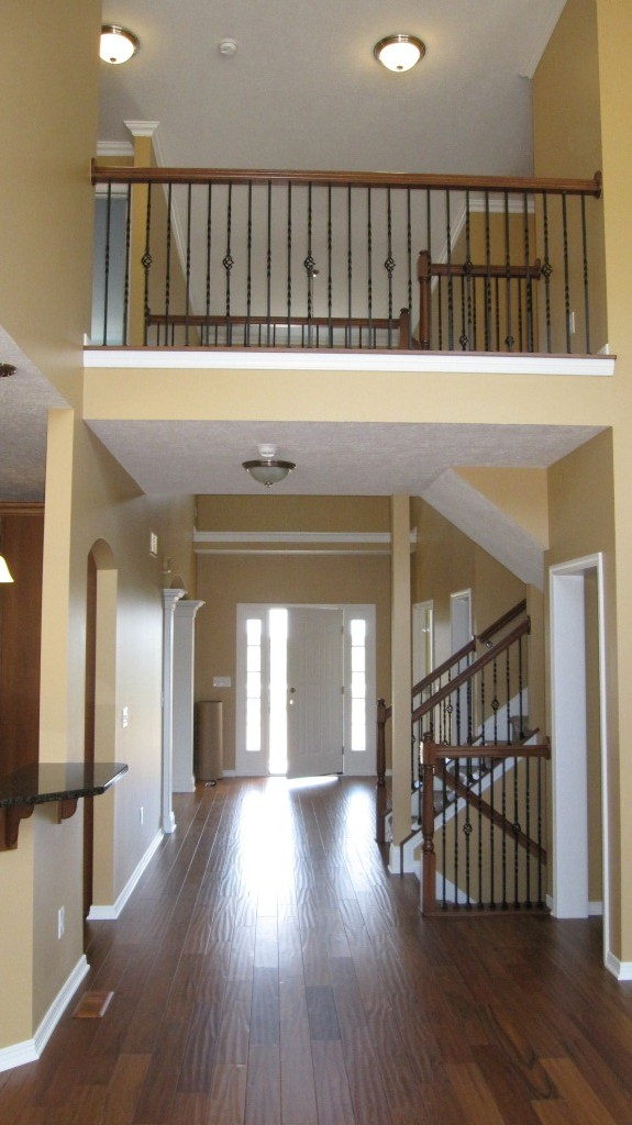 P&D Builders Featured Home Interior Foyer