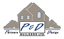 P&D Builders logo