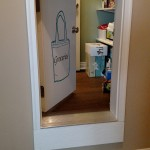 A pass-through give easy access to the pantry from the garage.